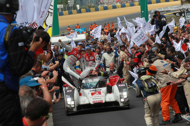 13. zmaga za Audi na dirki 24 ur Le Mansa, 2014