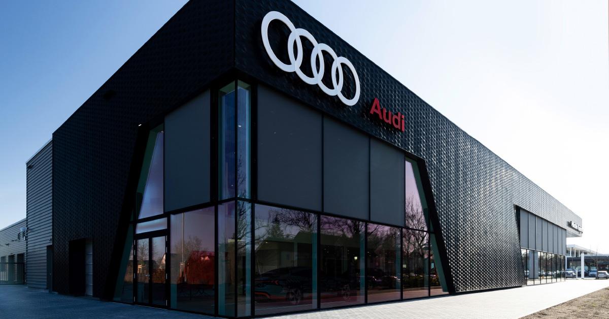 Audi prodajni salon