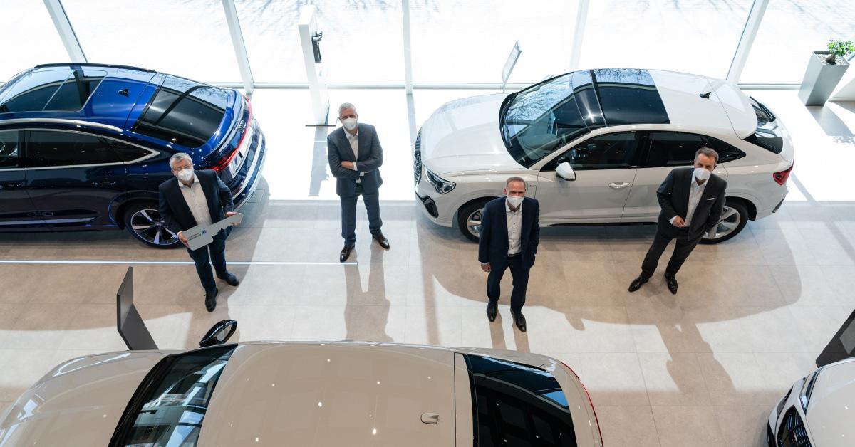 Audi prodajni salon vozil