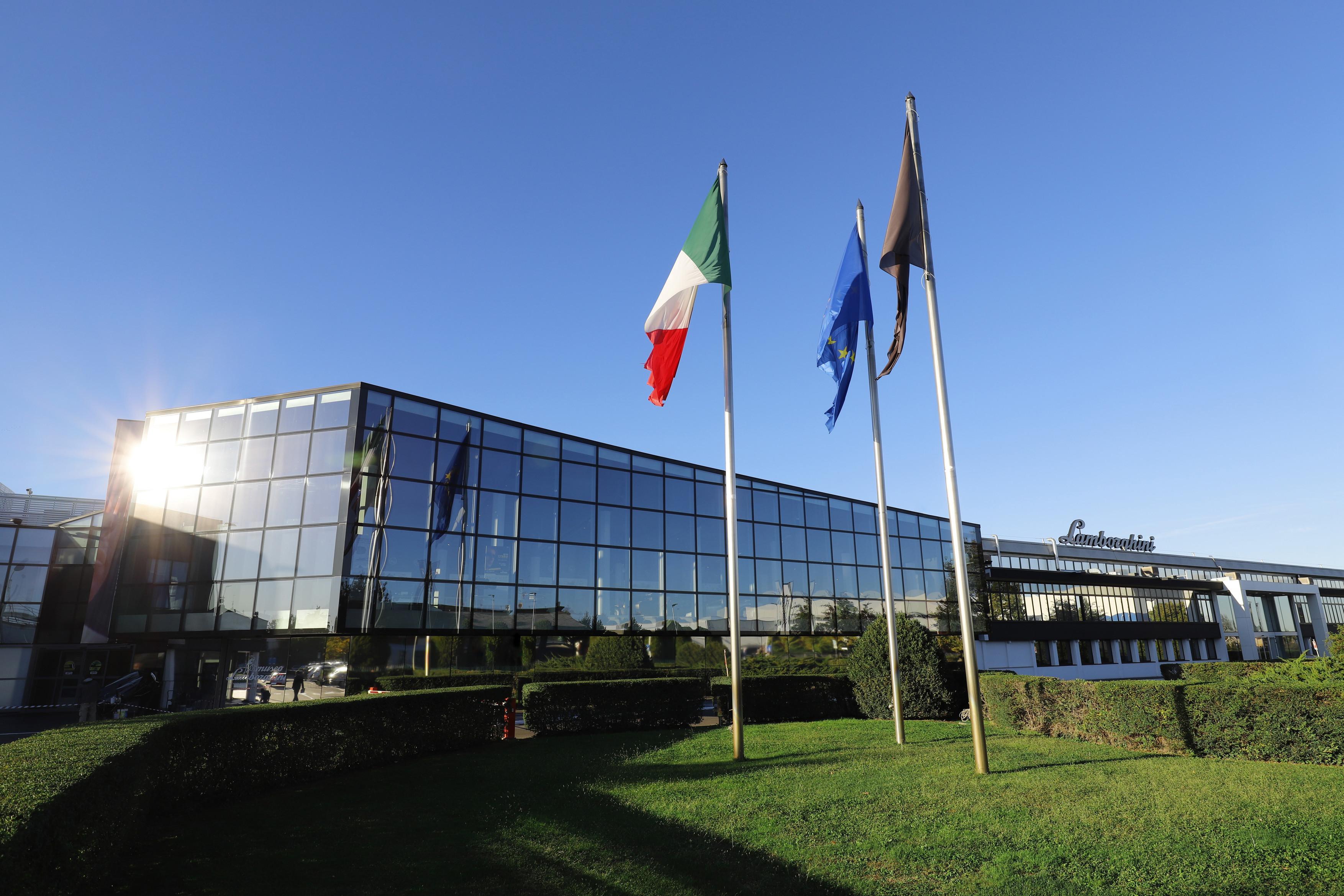 Tovarna Lamborghini