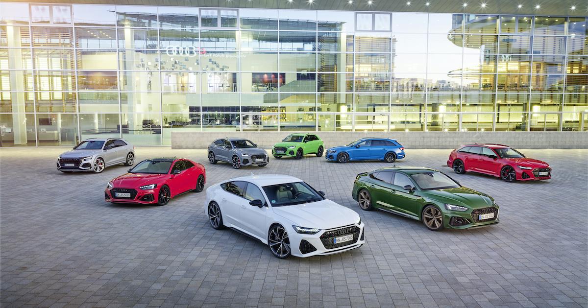 Audijeva RS linija avtomobilov