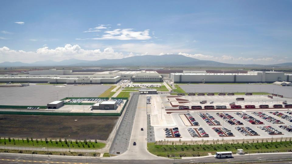 Audijeva tovarna v mestu San Jose Chiapa