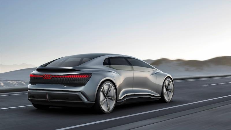 Prototip električnega vozila Audi