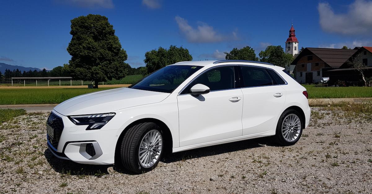 Audi A3 Sportback je že na naših cestah