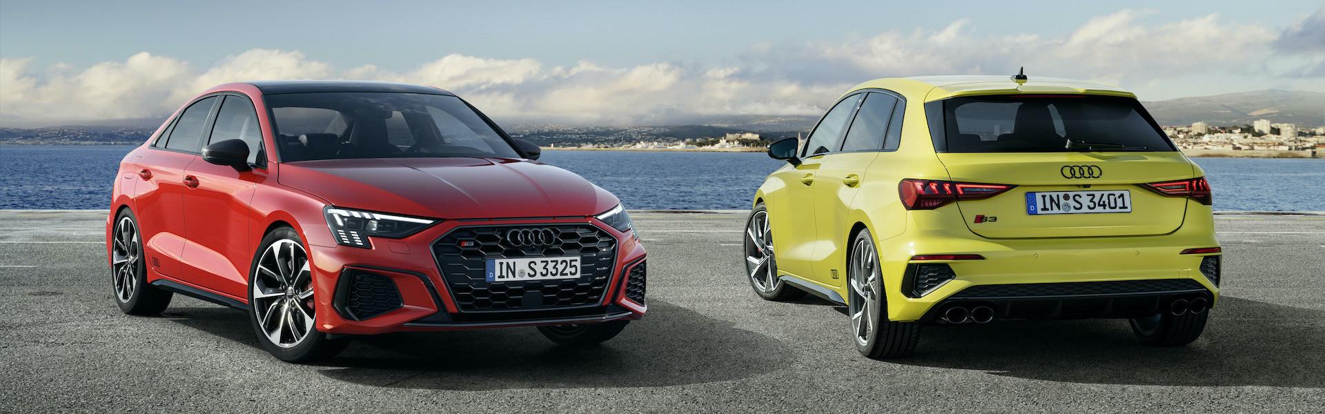 Audi S3 sportback in Audi S3 limuzina