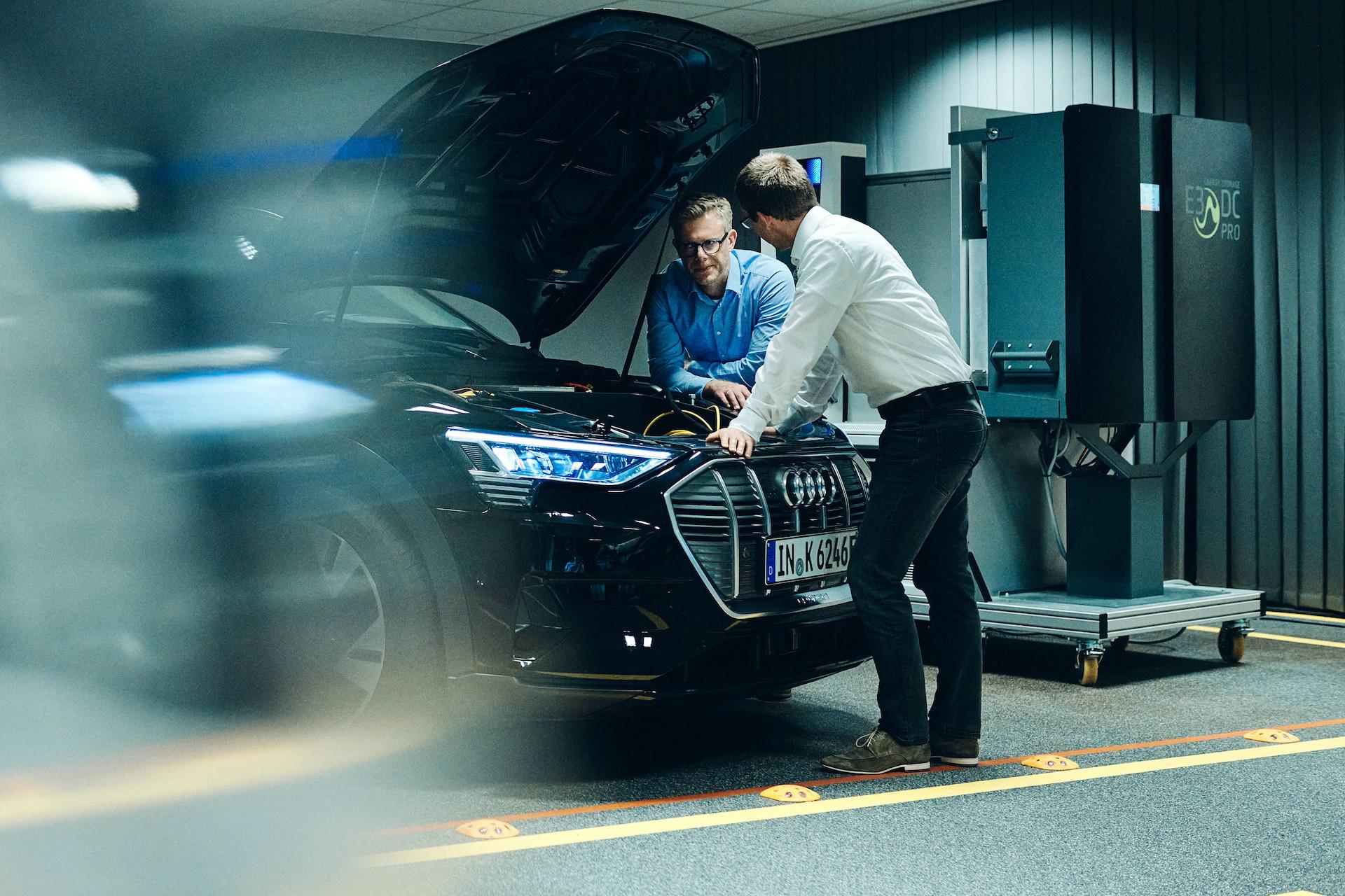 Audi raziskuje tehnologijo dvosmernega polnjenja