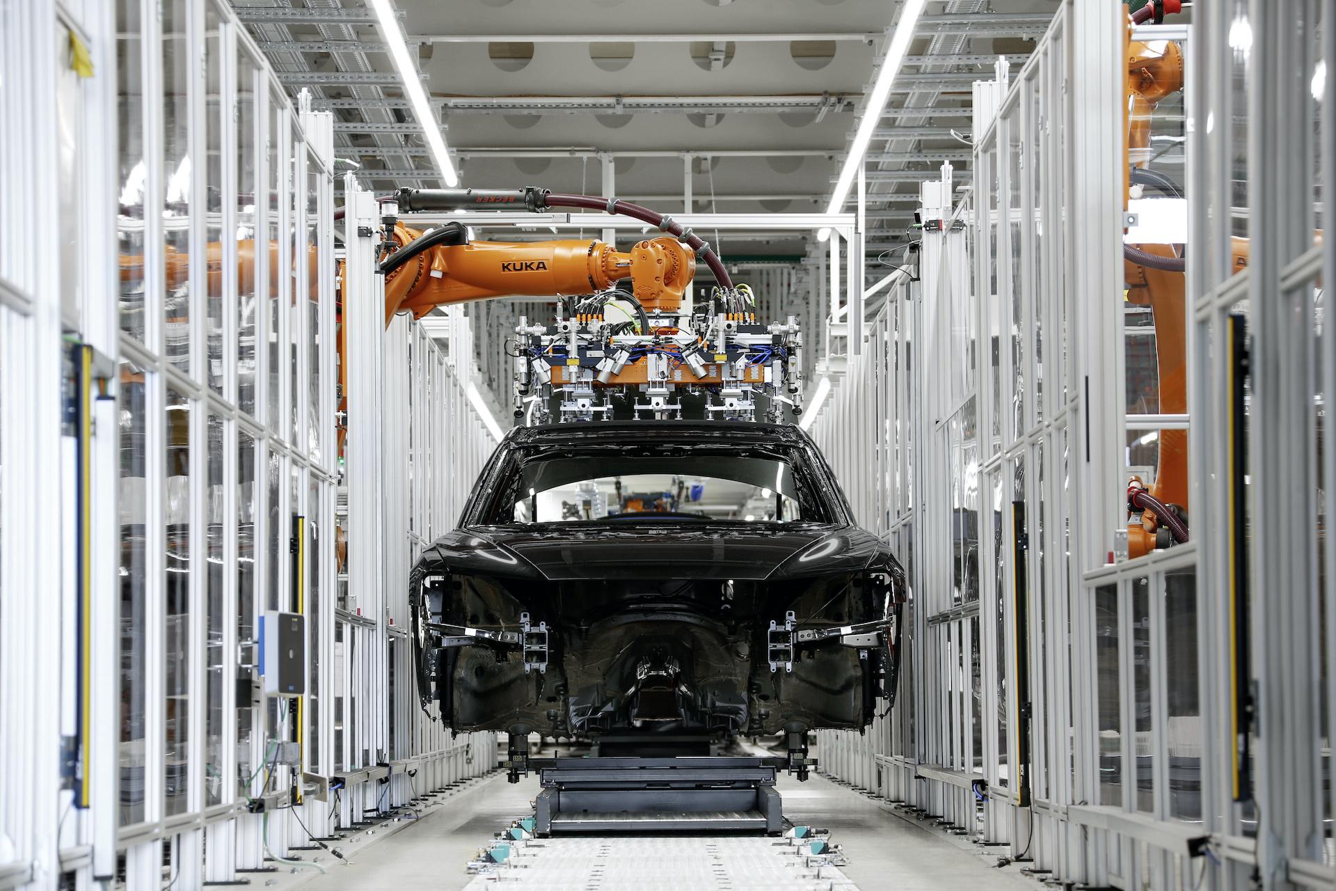 Proizvodnja Audijevih avtomobilov