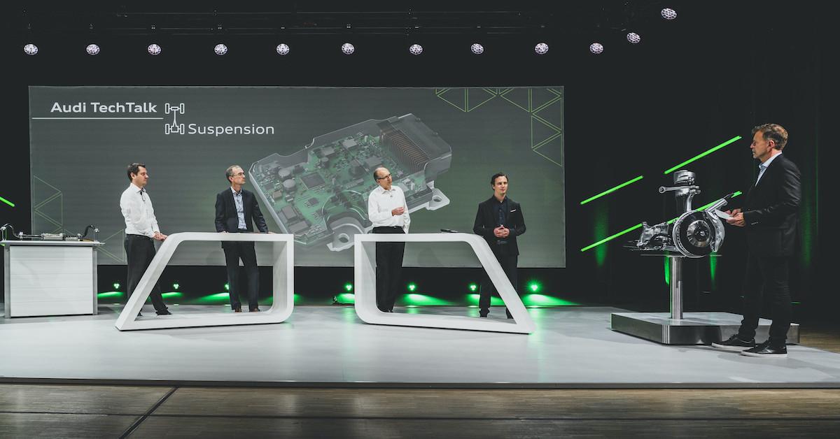 Audi TechTalk: Vzmetenje