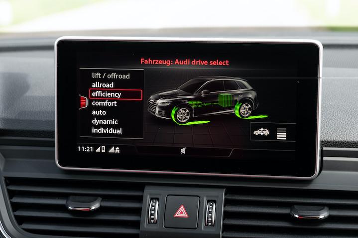 Uravnavanje vozne dinamike Audi drive select