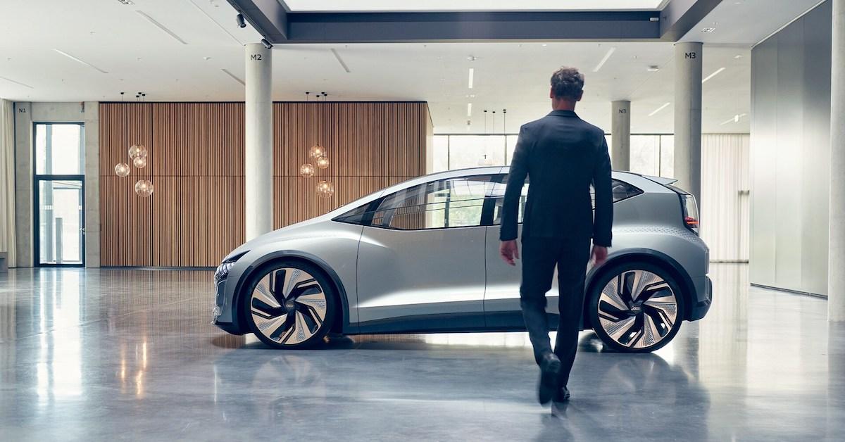 Usmerjen v prihodnost: Audi AI:ME