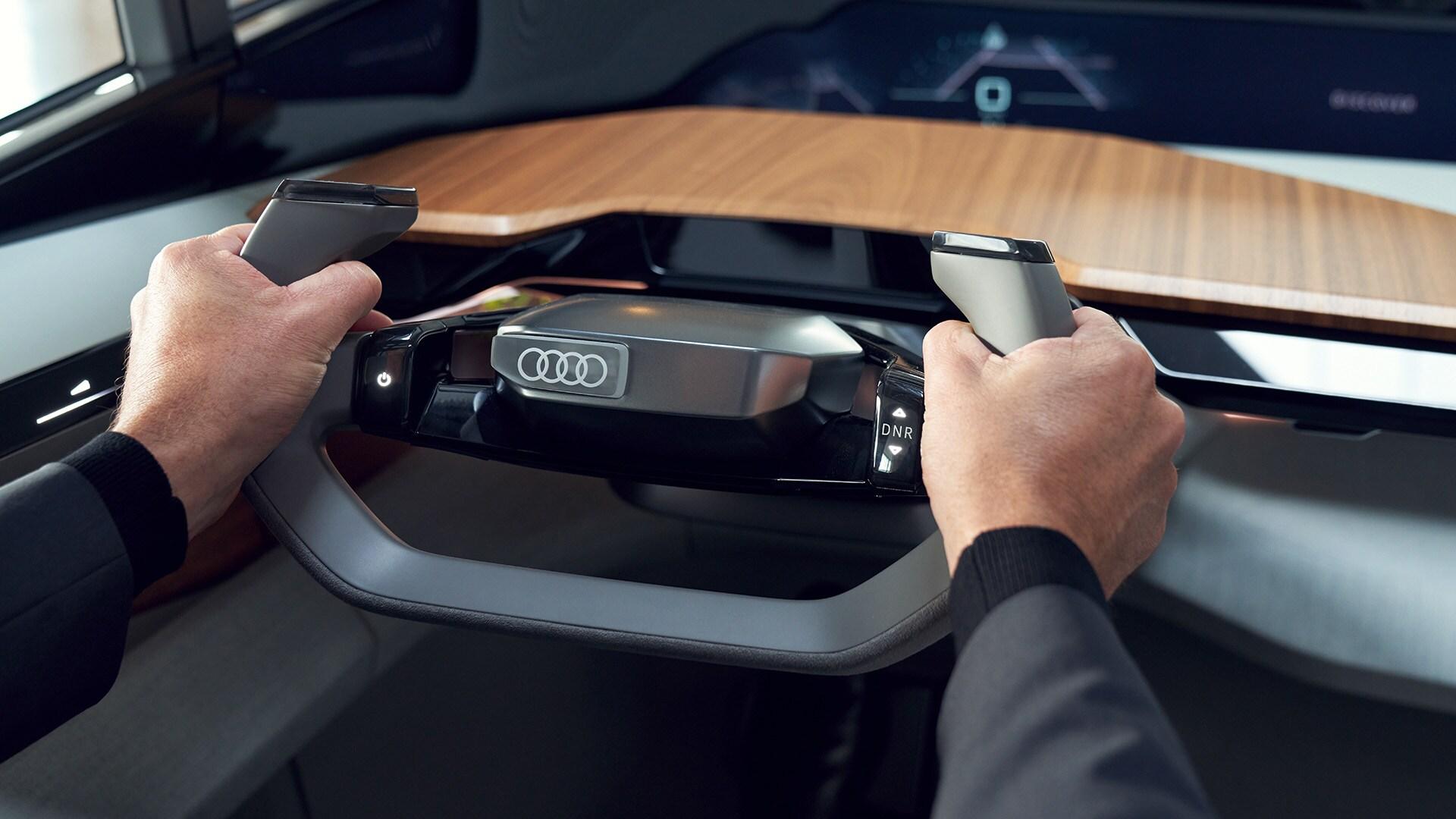 Audi AI:ME – volan
