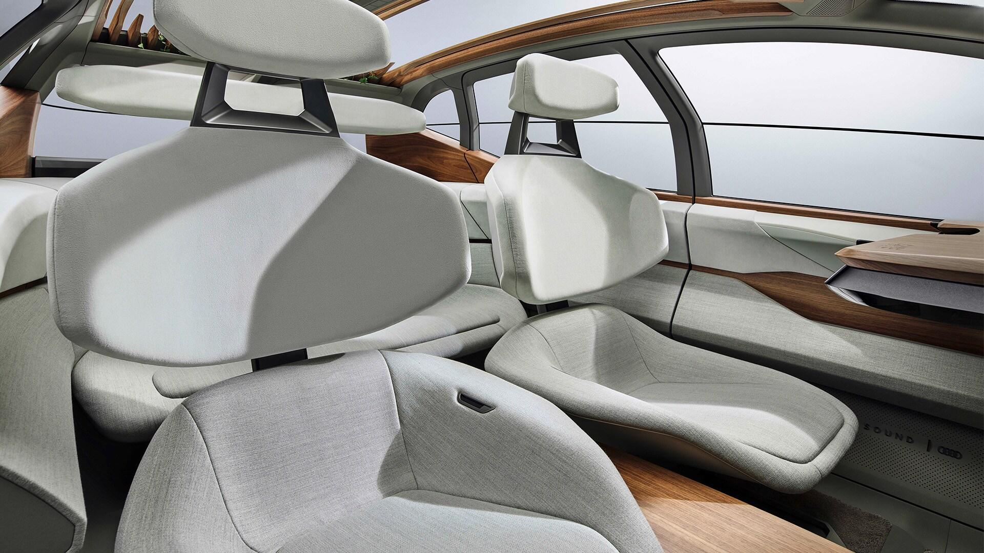 Audi AI:ME – sedeži