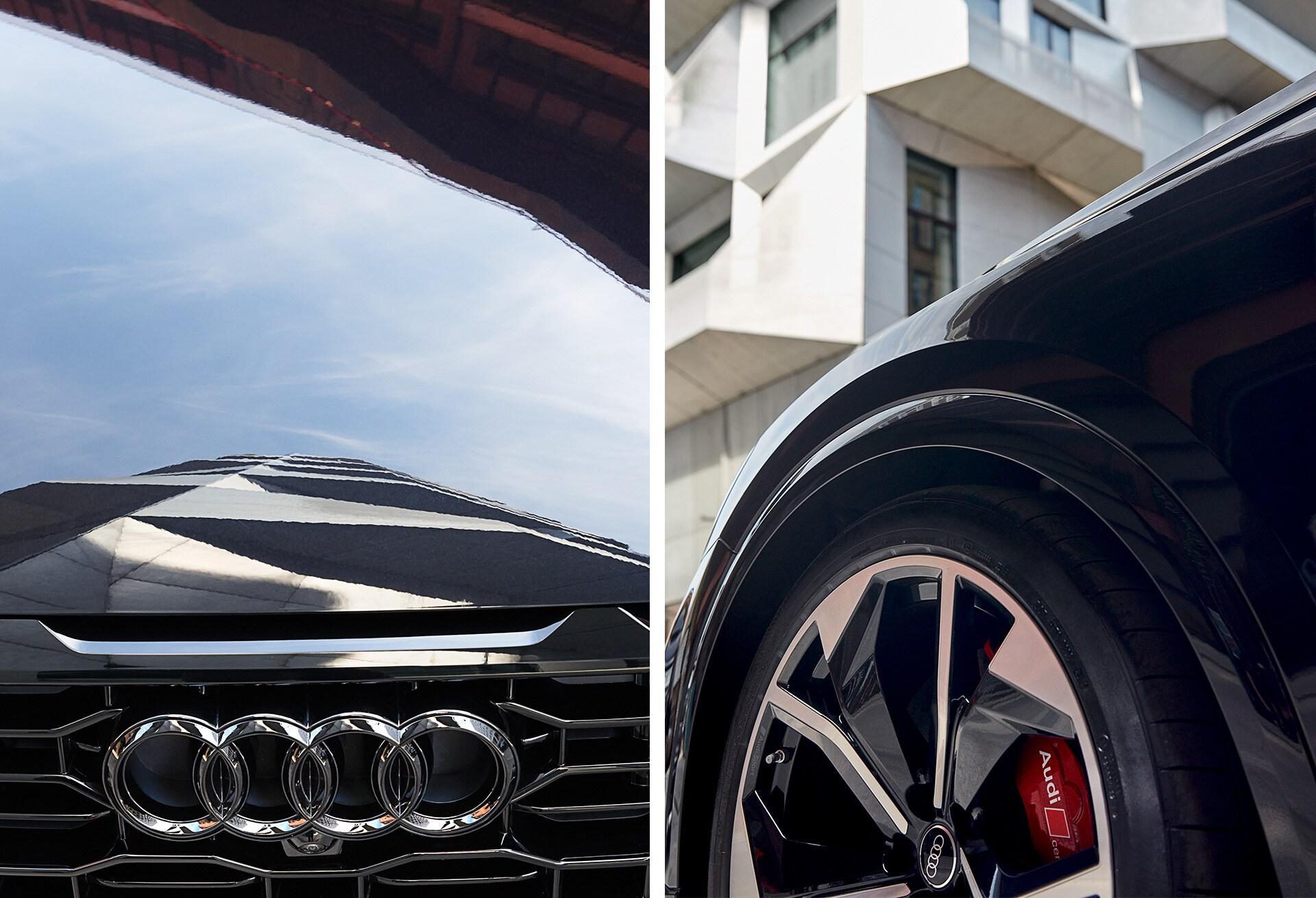 Audi RS Q8, sprednji del vozila