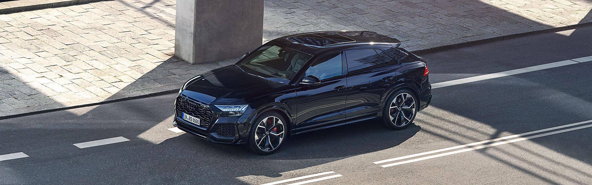 Audi RS Q8 na cesti