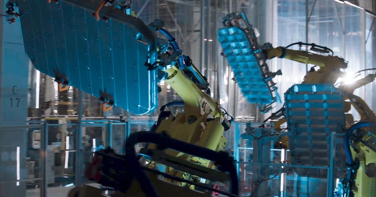 Proizvodnja v Audijevi tovarni v Bruslju