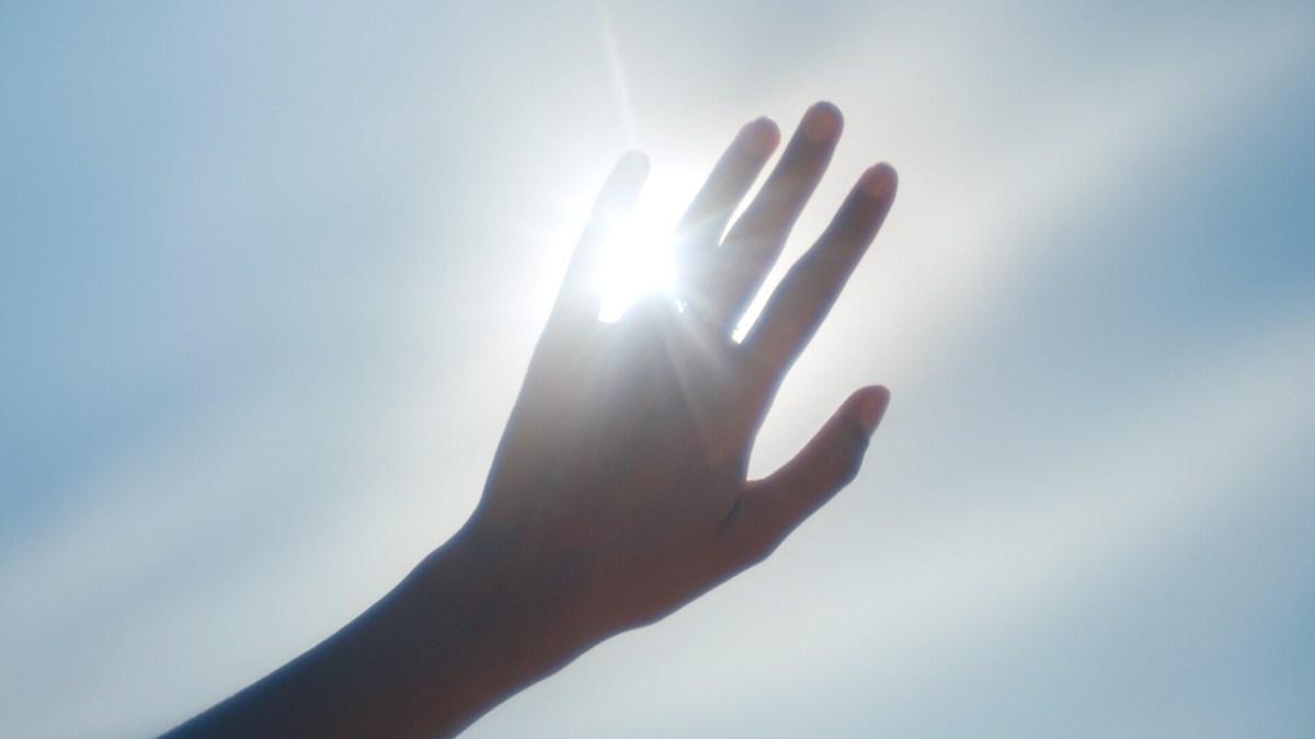 Dlan na sončni svetlobi