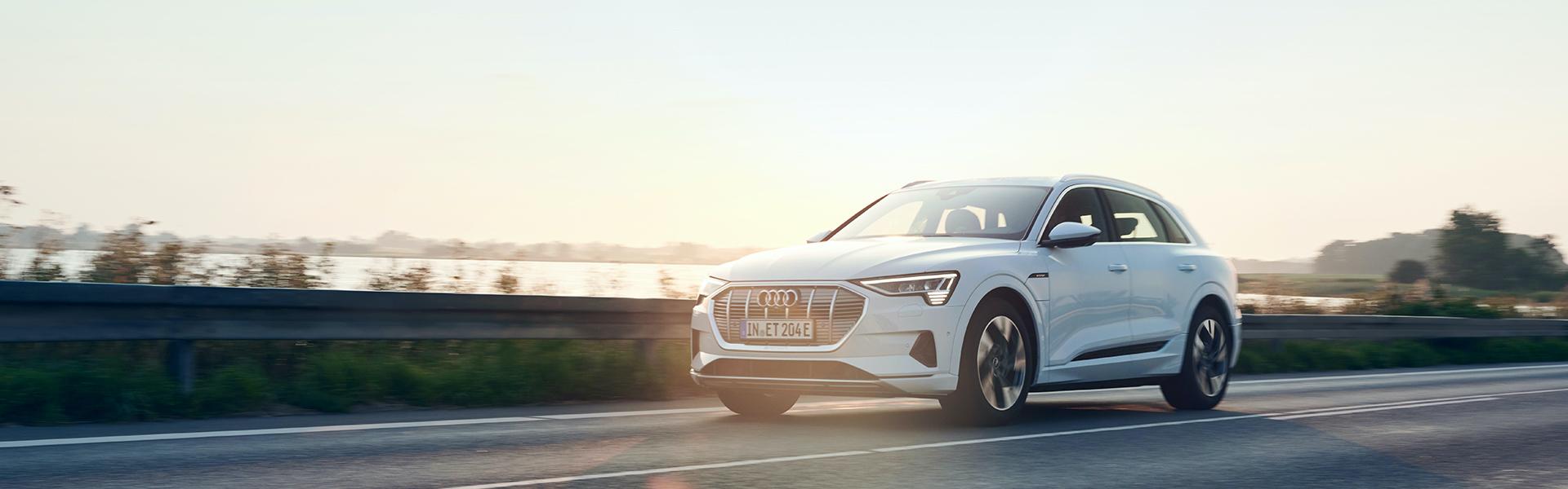 Audi e-tron na cesti