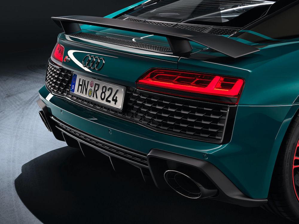 Audi R8 green hell - detajl