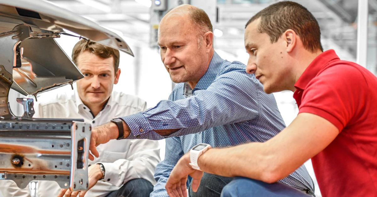 Strokovnjaki za preverjanje kakovosti in velike podatke: Dirk Zittel, Hans-Jürgen Schweiniger in Rudolf Reinhard