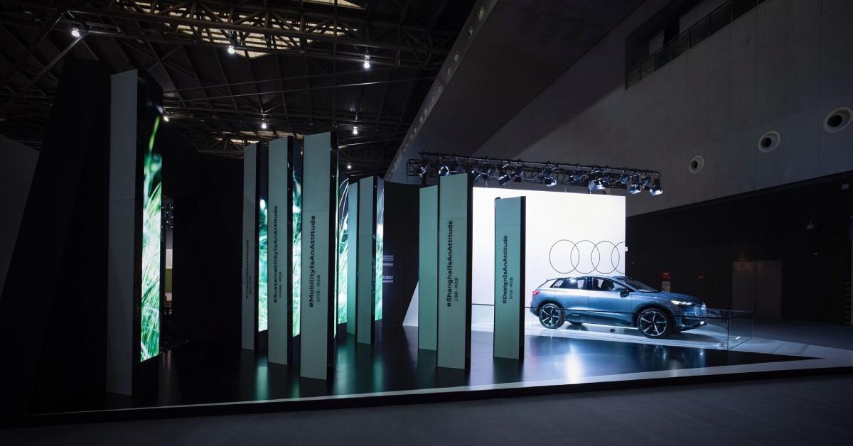 Audi na sejmu Design Shanghai
