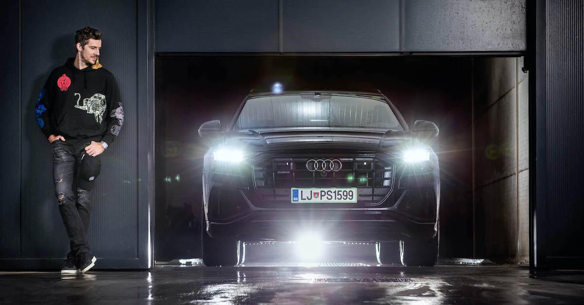 Pogovor z Goranom Dragićem: quattro na parketu, Audi Q8
