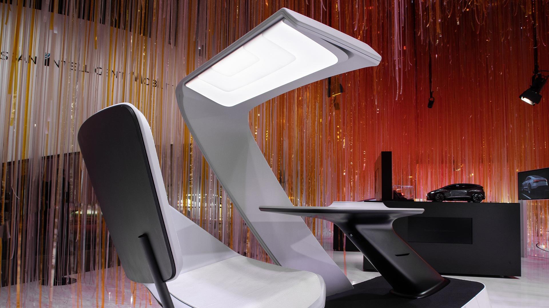 Obiskovalci visokotehnološkega sejma CES 2020 v Las Vegasu so se lahko seznanili z inovativnim konceptom osvetlitve.