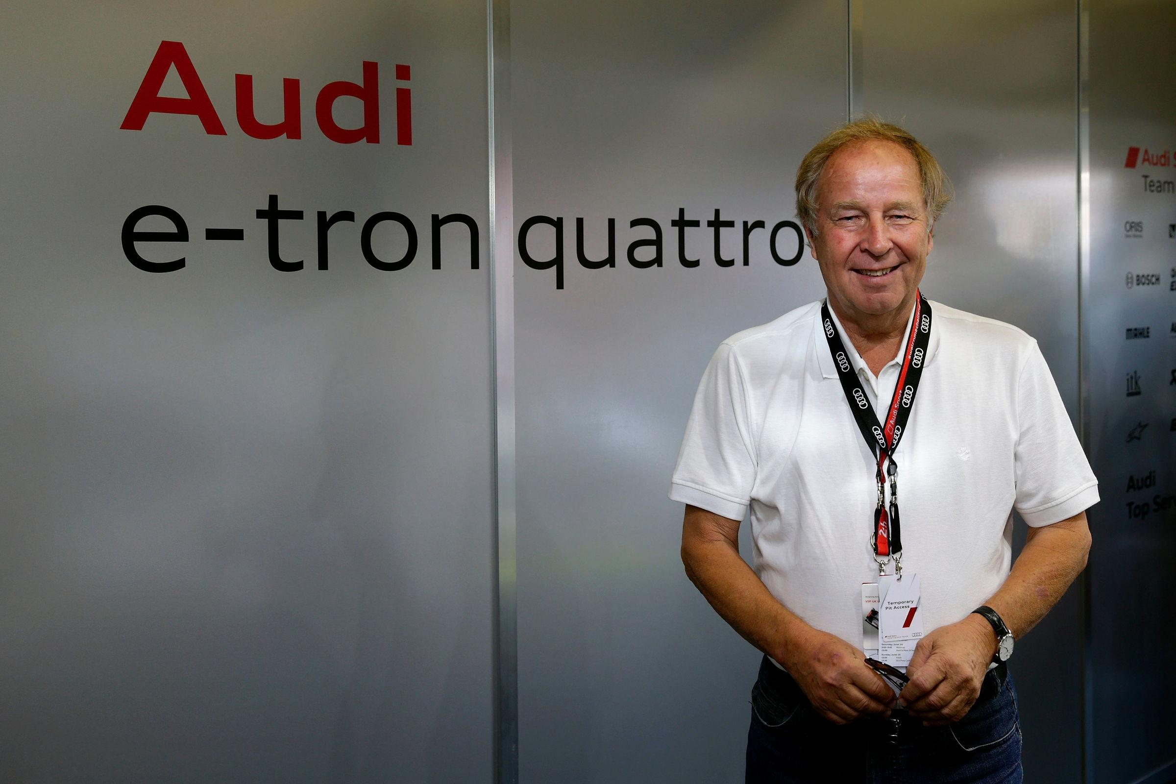 Hannu Mikkola med obiskom 24 ur Le Mansa