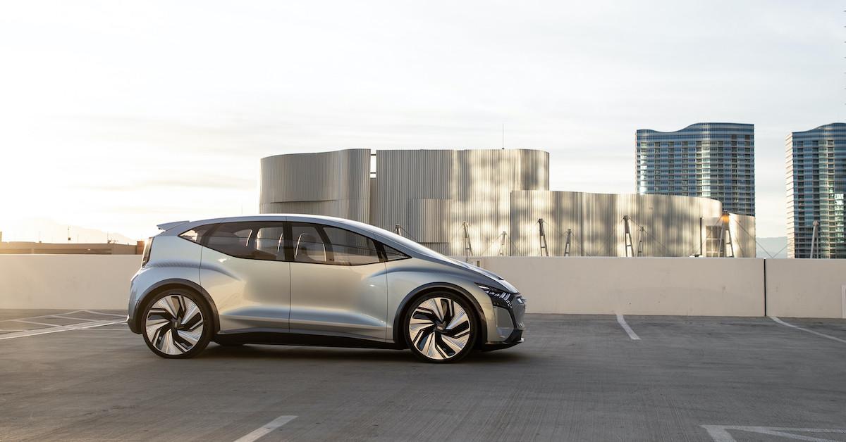 Konceptno vozilo Audi AI:ME