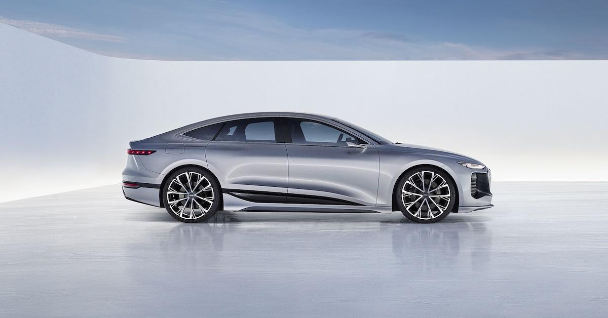 Konceptno vozilo Audi A6 e-tron