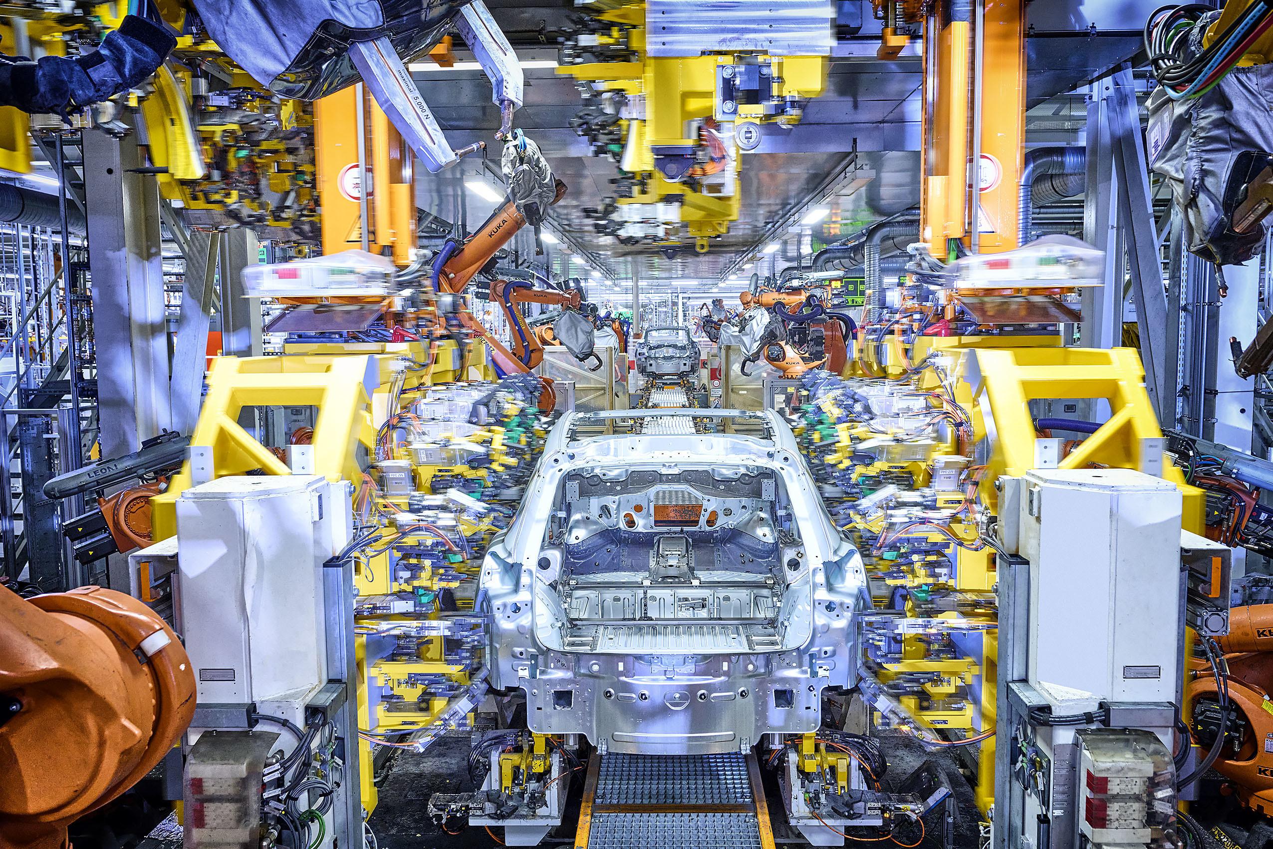 proizvodnje modela Audi Q4 e-tron