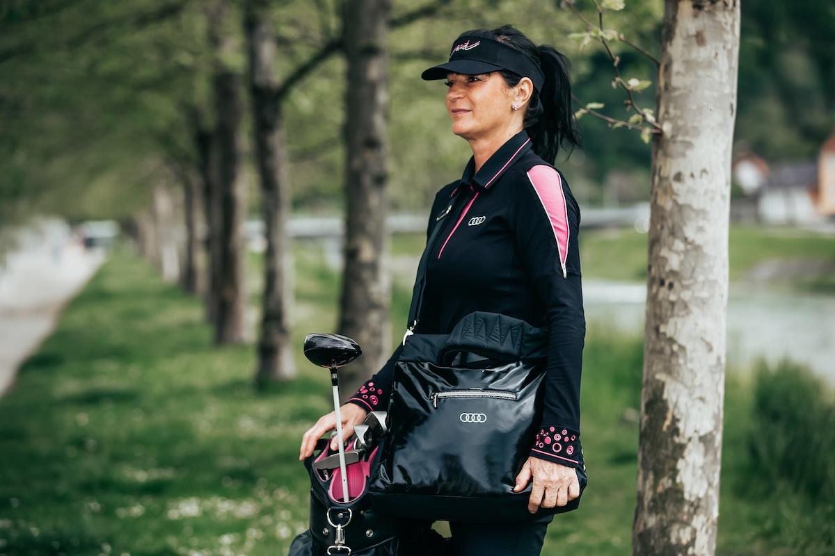 Nataša Berginc v Audi golf kolekciji