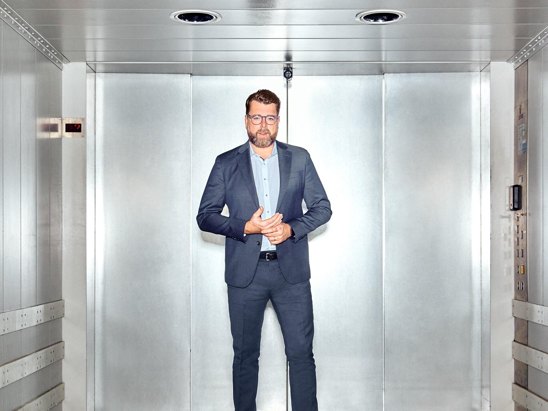 Oliver Hoffman, član upravnega odbora Audi AG za tehnični in tehnološki razvoj