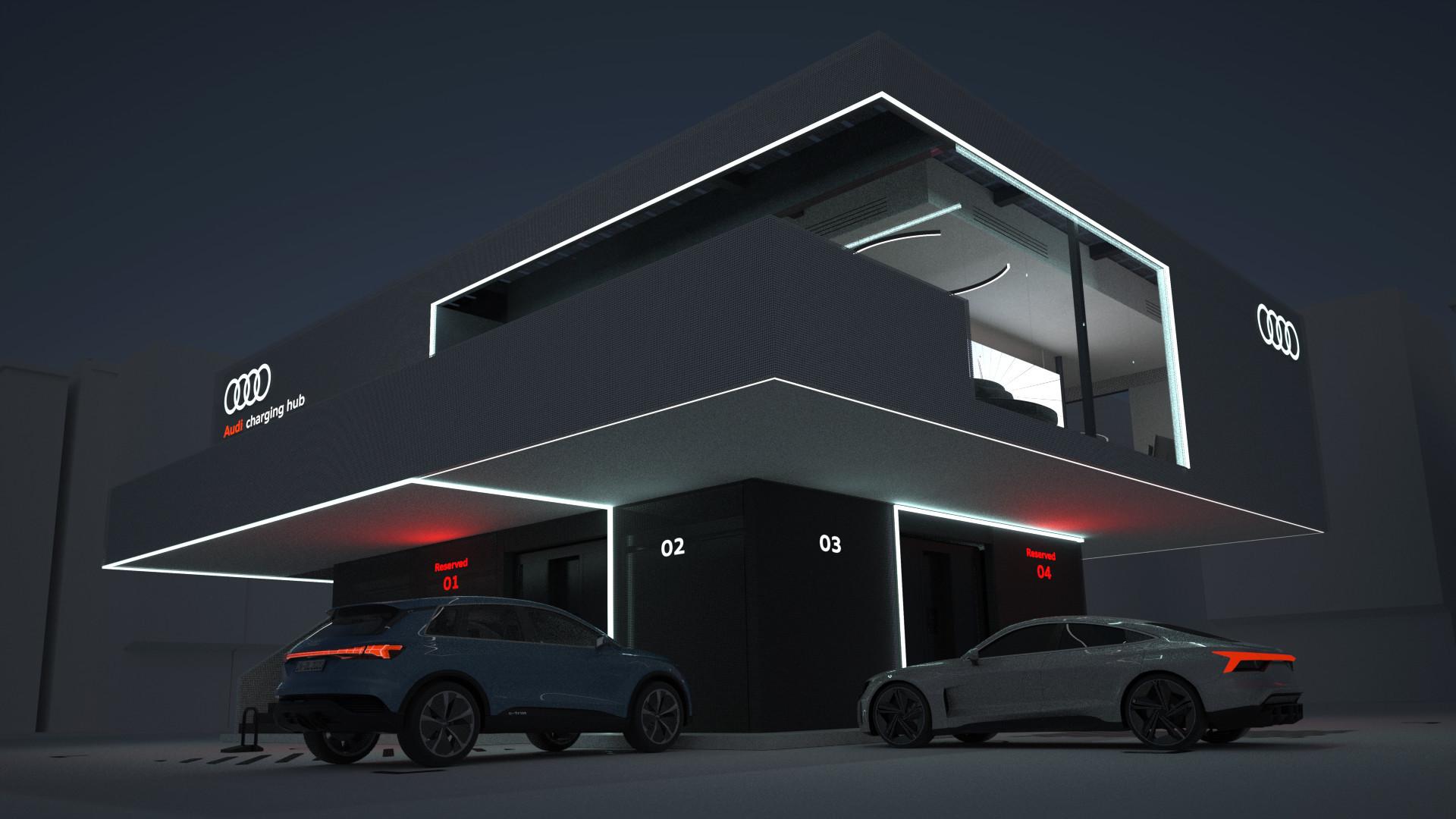 Audi konceptna polnilnica