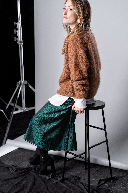 Igralka in aktivistka Olivia Wilde.