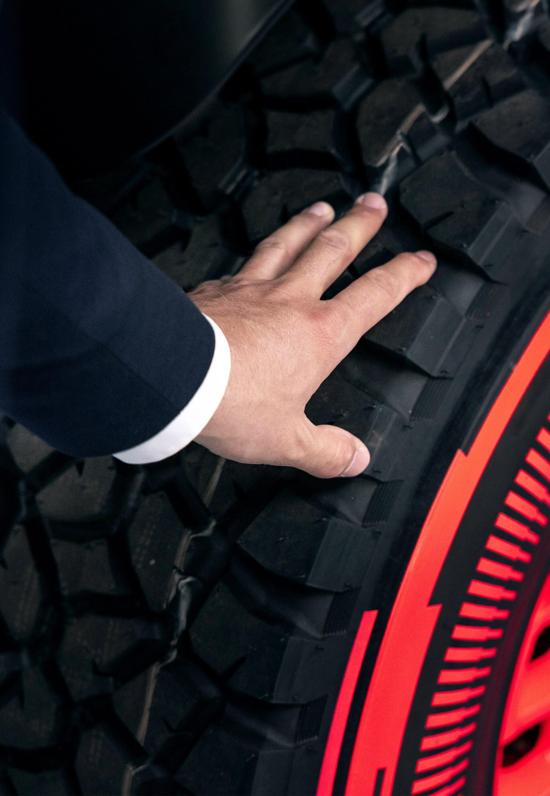 Audi RS Q e-tron, kolo