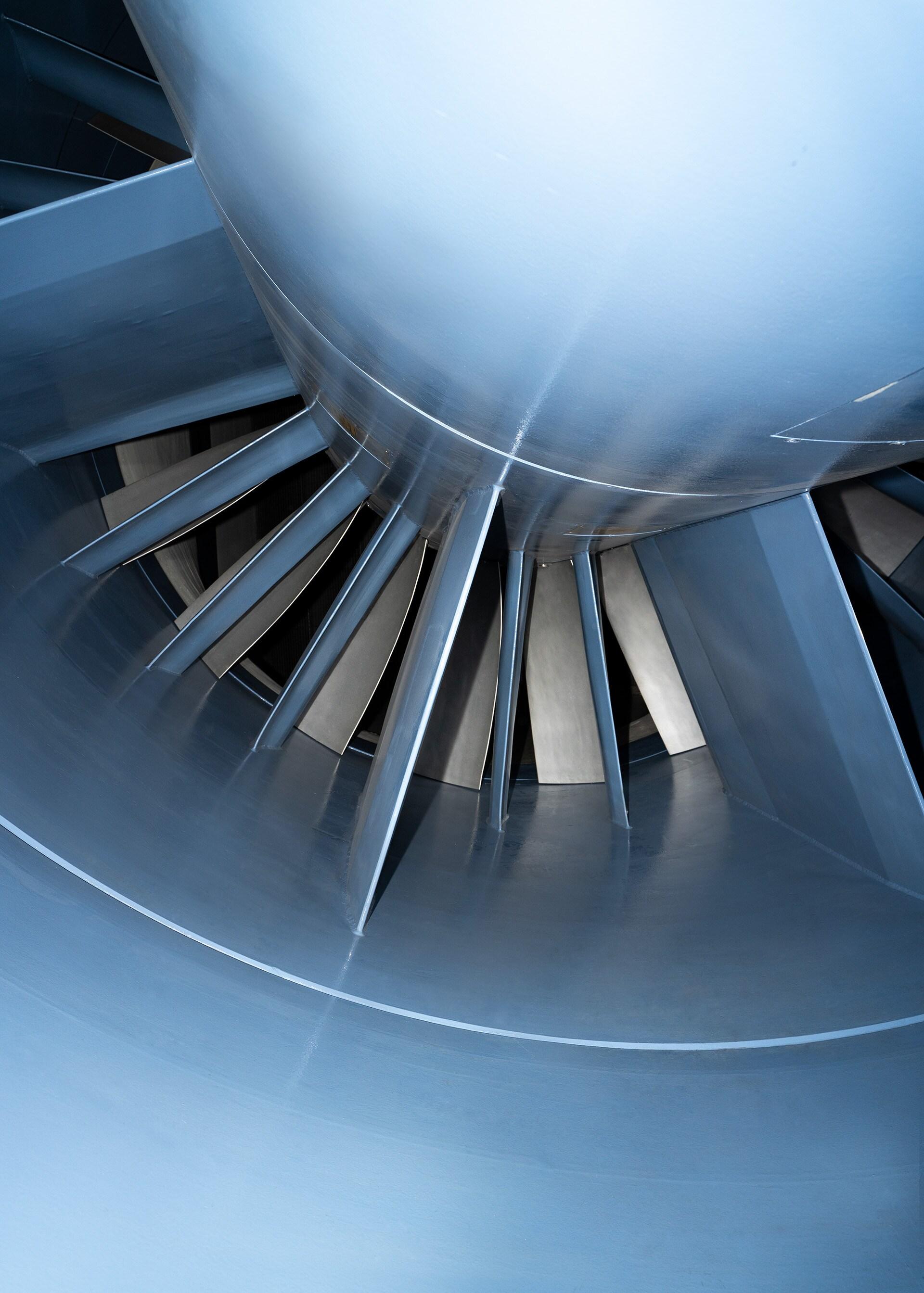 Ventilator vetrovnika porabi tudi do 2720 kW energije