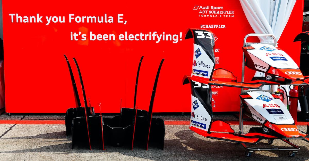 Havala Formula E, bilo je naelektreno.