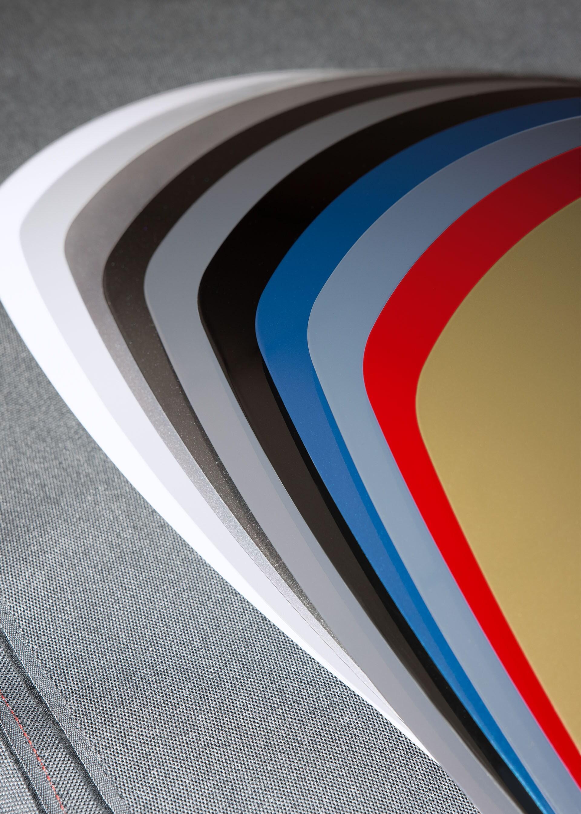 Paleta barv, v katerih je dostopen Audi RS e-tron GT