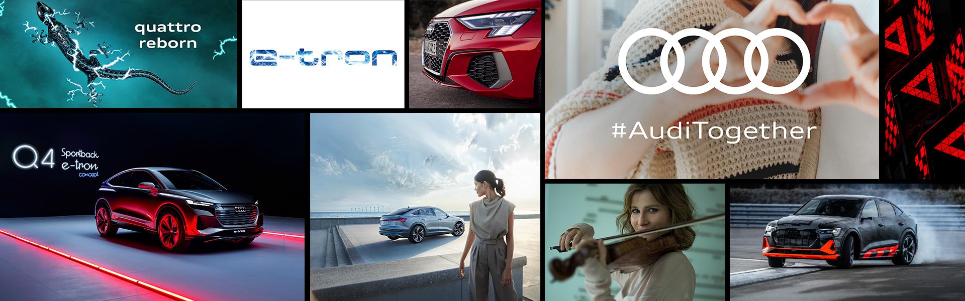 Audi v letu 2020